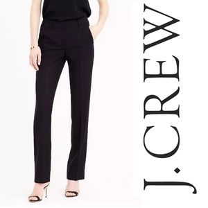 J CREW Campbell Trouser 120s Wool E0485 Petite
